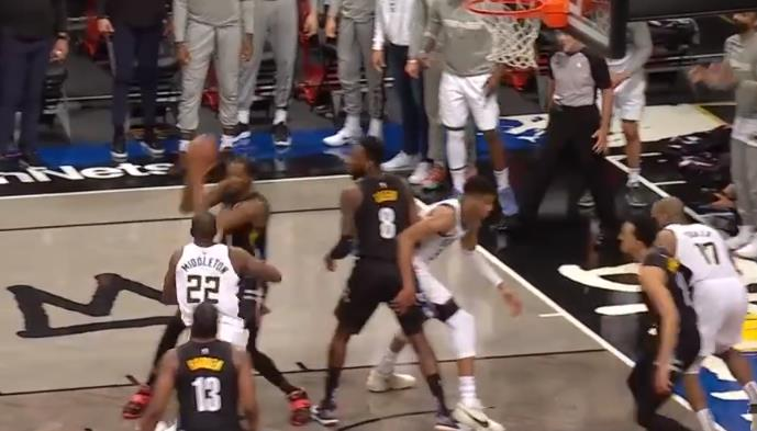 NBA今日最佳防守:杜蘭特和格林貼防密不透風,字母哥失誤痛失比賽!