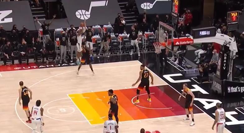 NBA精彩時刻:挺身而出!Morris外線接連開火助球隊反超比分!