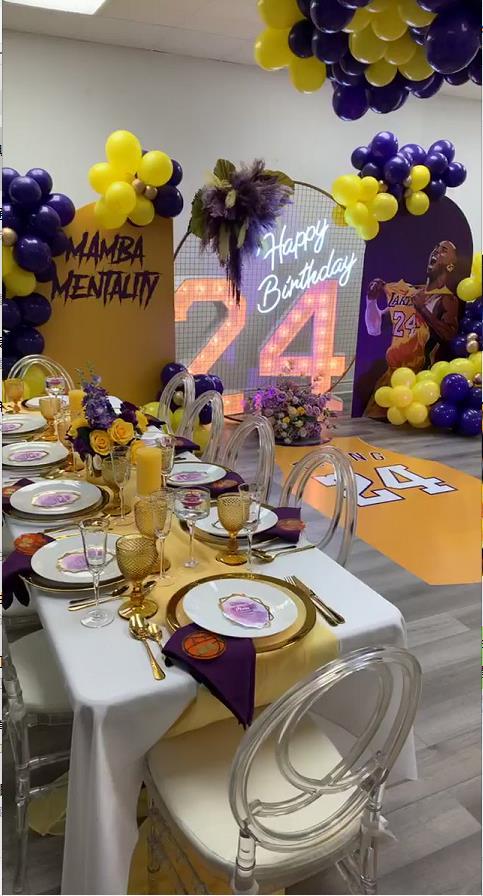 太美了!Kobe球迷佈置的主題房間,用來球迷聚會再合適不過!
