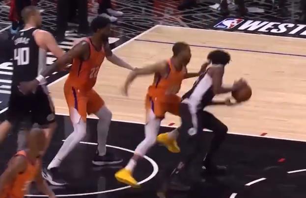 NBA今日最佳控球:Beverley戲耍防守轉身拋投命中,還有啥懸念?