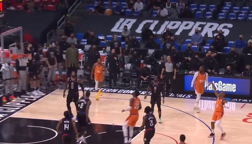 7.1賽場速遞:NBA精彩時刻:開場手感火熱!保羅外線連續發炮打停快艇!