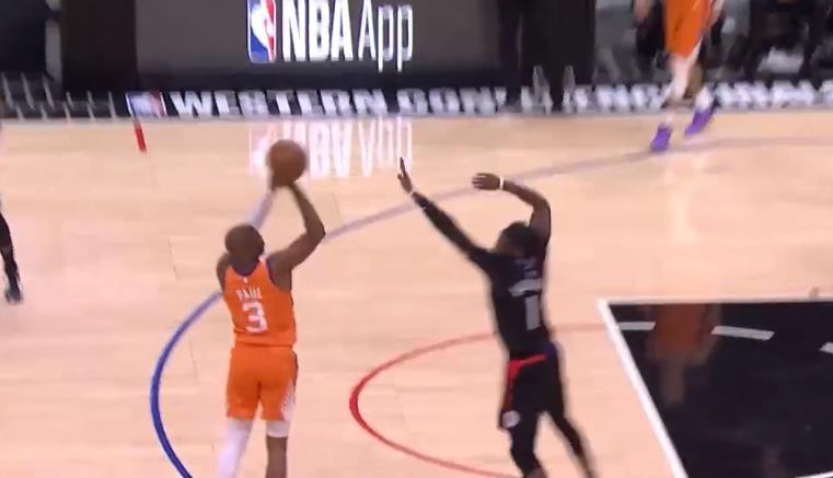 7.1賽場速遞:NBA精彩時刻:親自接管比賽!保羅連續兩記強投三分徹底殺死懸念!