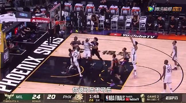 來看看NBA冠軍賽G2五差球:保羅離譜背傳上榜!