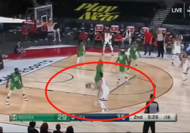 這些在NBA賽場上可能吹的哨,在國際賽場上是不吹的!