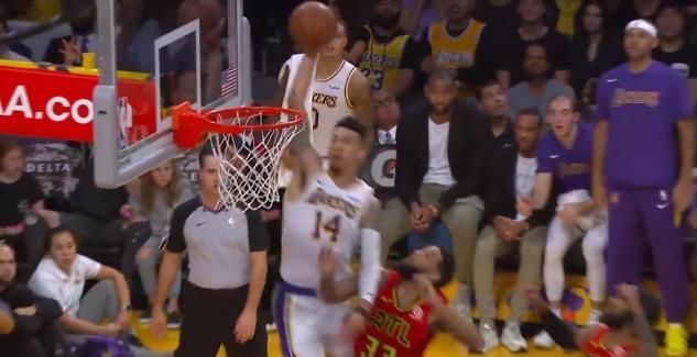 聖堂扣將?Danny Green底線飛身補扣,賽後被NBA驗尿!
