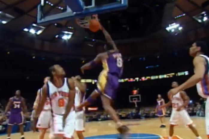 Kobe對陣29支球隊的最佳鏡頭,隔人暴扣+絕殺殘暴又冷血!
