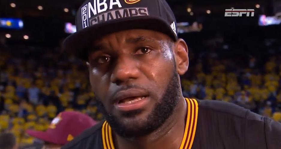 老詹這句「Cleveland,this is for you!」有沒有感動到你?
