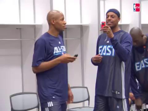 你看過Allen Iverson剪平頭的樣子嗎?隊友都笑翻在地!