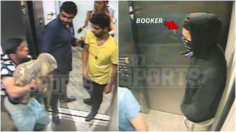 【影片】NBA版古惑仔!隊友慘遭群毆,Booker趕到強行2v4還追殺出樓外!