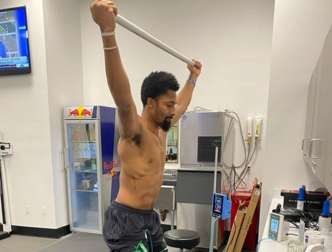 太拼!傷病阻止不了Dinwiddie,確認前十字韌帶撕裂後第6天,他已開始恢復訓練!