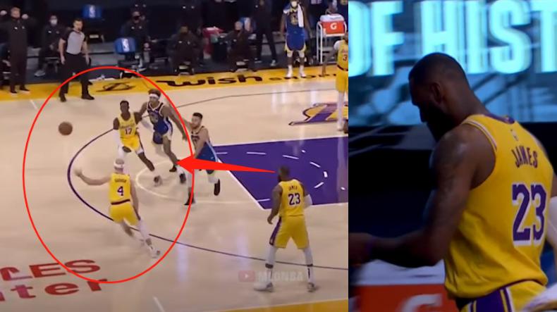【影片】關鍵球被吹走步,而隊友最後一回合太不果斷,老詹很鬱悶,賽後頭也不回直接離場!-黑特籃球-NBA新聞影音圖片分享社區