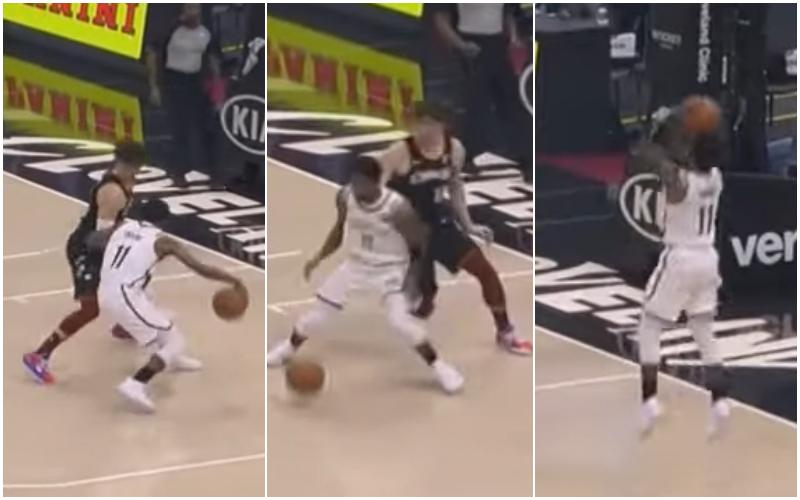 【影片】厄文半轉身後仰跳投晃暈防守人,小Thomas點評:此刻我仿佛看到了Kobe!