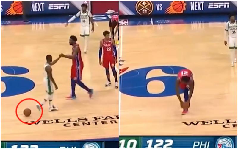【影片】太賊了!Embiid今天唯一一次抄截是這麼來的!Walker:???-黑特籃球-NBA新聞影音圖片分享社區