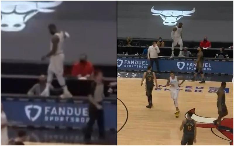 【影片】詹姆斯的迷惑行为!沖上技術台然後淡定漫步,美媒:你在干嘛呢?詹姆斯!-黑特籃球-NBA新聞影音圖片分享社區