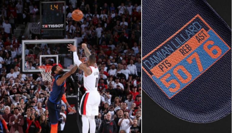 傷害很大,侮辱性爆炸!Lillard的新鞋將用雷霆配色,紀念季後賽50分壓哨絕殺對手!-黑特籃球-NBA新聞影音圖片分享社區