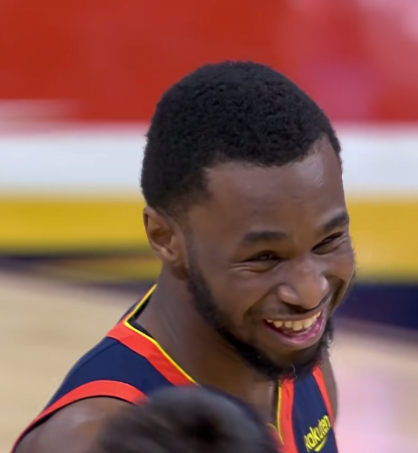 Wiggins手感火熱,Curry放棄進攻示意他繼續打,賽後Wiggins:找不到離開勇士的理由!(影)-黑特籃球-NBA新聞影音圖片分享社區