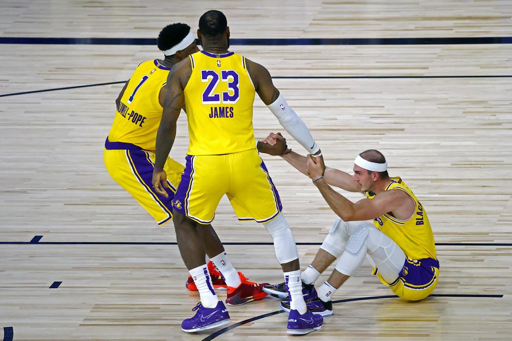 三分命中率聯盟第一!他比Pope還要準,下一份合同湖人會給多少錢?-黑特籃球-NBA新聞影音圖片分享社區
