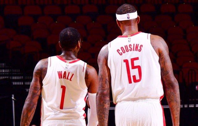 Cousins猛誇墻哥四大作用!數據揭示兩人同場威力巨大,名記用哈登來調侃!-黑特籃球-NBA新聞影音圖片分享社區