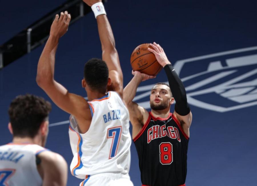 連續4場30+!LaVine創4紀錄比肩喬神卻成空砍王,場均28.3分聯盟第三人!-黑特籃球-NBA新聞影音圖片分享社區
