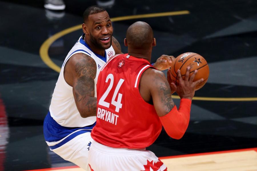 詹姆斯評價科比模仿喬丹動作:很多人想學喬丹,但只有科比一個人做到了!-黑特籃球-NBA新聞影音圖片分享社區