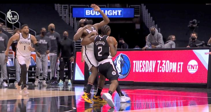NBA公佈籃網快艇裁判報告,最後兩分鐘沒有錯判和漏判,Leonard的進攻犯規沒問題!