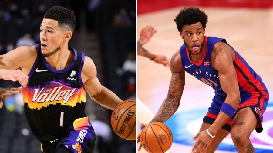 NBA公佈上週東西區最佳球員:Booker生涯首次當選,活塞新秀力壓三巨頭!