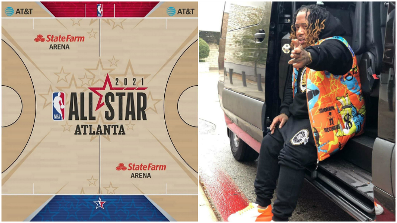 悲劇!說唱歌手前往亞特蘭大參加NBA明星賽演出,在路途中被「槍殺」!
