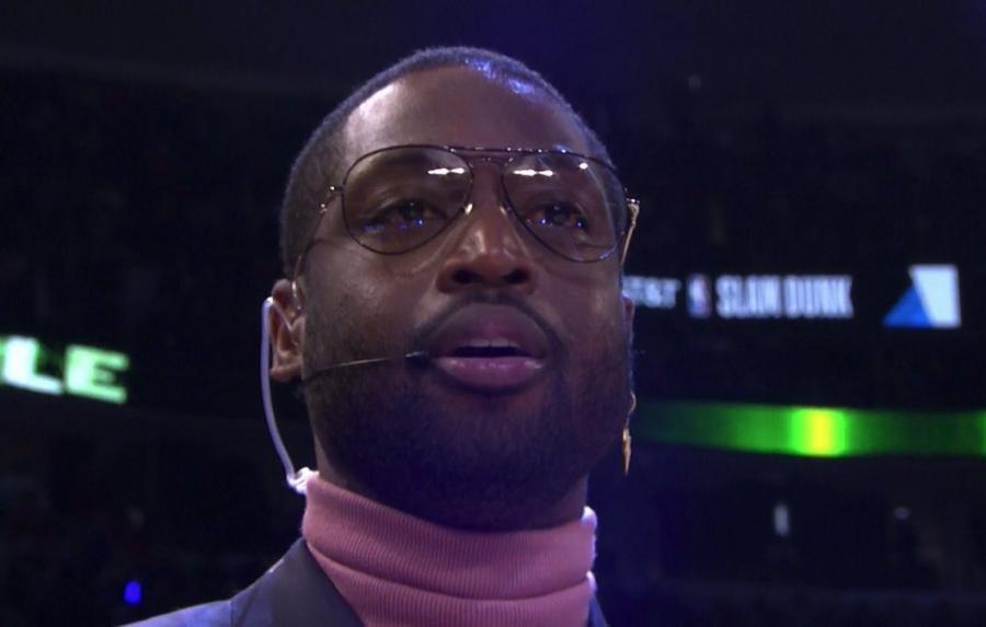 韋德給灌籃大賽評委建議:不要隨便給10分,那並不是真的10分!